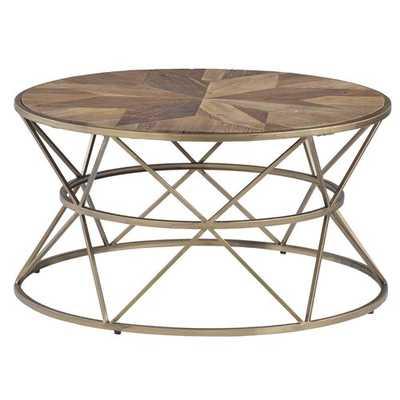 Kirklin Round Coffee Table - Wayfair