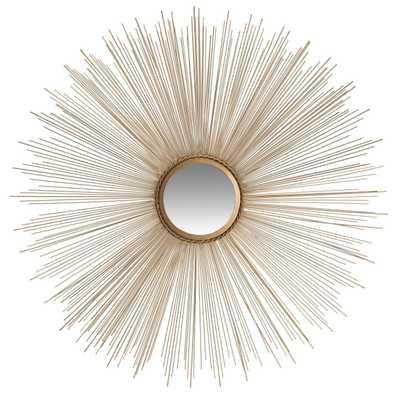 Sun Burst Mirror - Gold - Arlo Home - Arlo Home