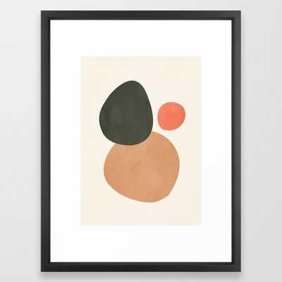 abstract minimal 21 Framed Art Print - Society6