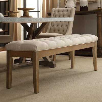 Neumann Upholstered Bench - Wayfair
