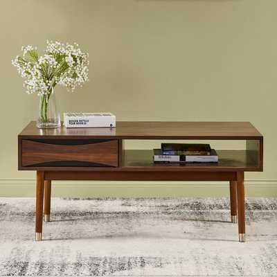 Dawson Coffee Table with Storage - Wayfair