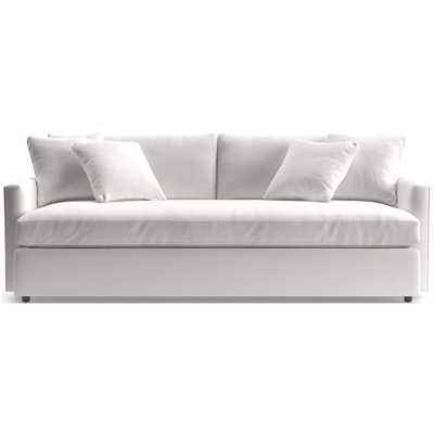 """Lounge 93"""" Bench Sofa - Crate and Barrel"""