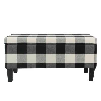 Donnie Decorative Upholstered Storage Bench - Wayfair