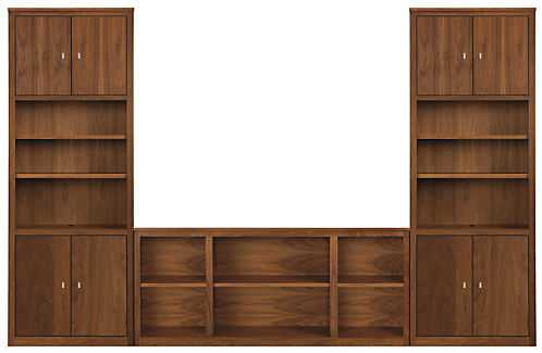 Woodwind 86h Bookcase Wall Unit - Room & Board