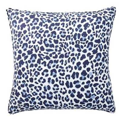 Navy Leo Pillow 20x20 - Caitlin Wilson