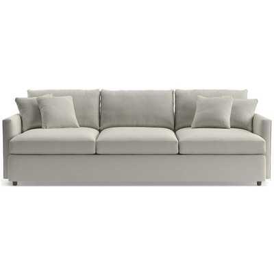 "Lounge II 3-Seat 105"" Grande Sofa - Redford white - Crate and Barrel"