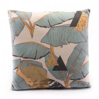 Tropical Yellow Pillow Multicolor - Zuri Studios