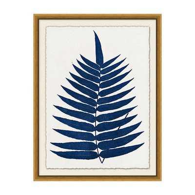 """Indigo Fern Leaf Art / Print I / 26"""" x 20"""" - Ballard Designs"""