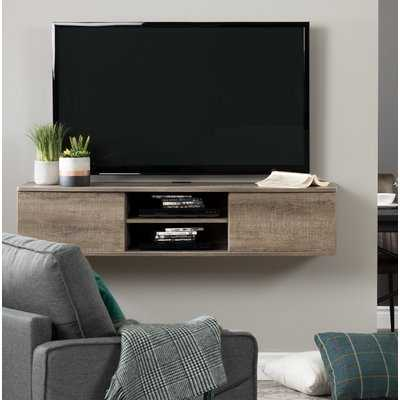 Agora Wall Mounted Media Console TV Stand for TVs up to 58 - Wayfair