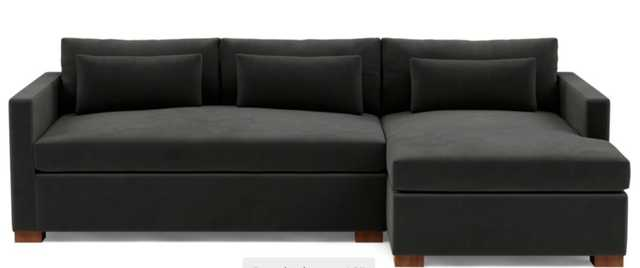 CHARLY Right Chaise Storage Sectional - Interior Define