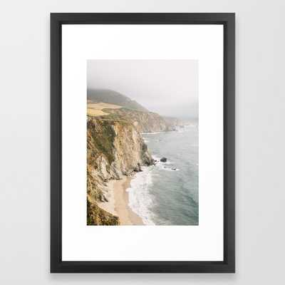 Big Sur California Framed Art Print - Society6