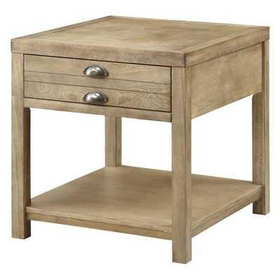 Coaster Furniture Wood End Table - Light Oak - Hayneedle