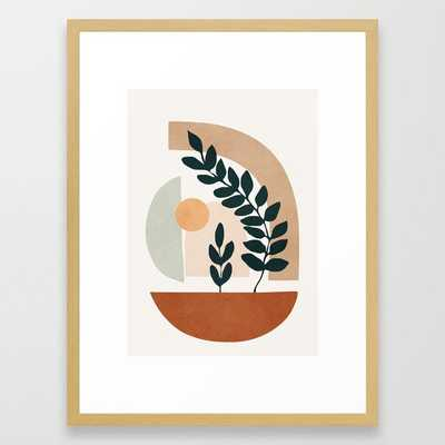 Soft Shapes III Framed Art Print - Society6