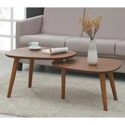 Borkholder 2 Piece Coffee Table Set - Wayfair