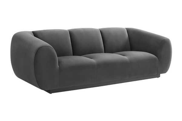 Brianna Morgan Velvet Sofa - Maren Home