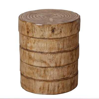 Dawlish Tree Stump End Table - Wayfair