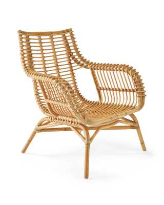 Venice Rattan Chair - Serena and Lily