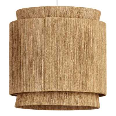 Natural Fiber 3 Tier Leyla Pendant Shade - World Market/Cost Plus
