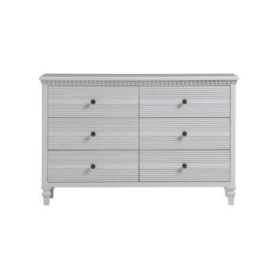 YoungHouseLove Debonair 6 Drawer Double Dresser: white - Wayfair