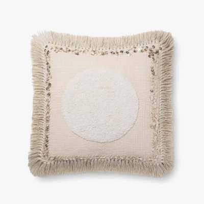 Natural throw pillow - Loma Threads