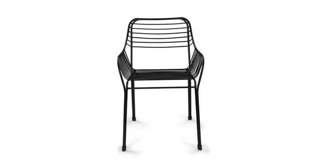 Caya Mondo Black Dining Armchair - Article