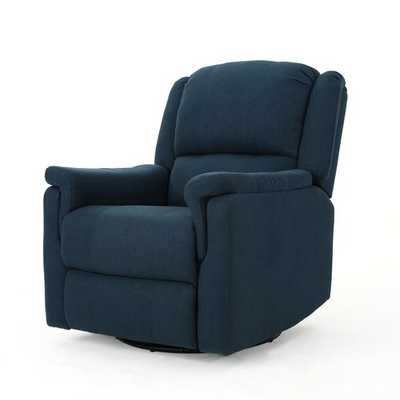 Neoma Manual Recliner - Navy Blue - Wayfair