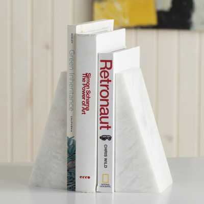 Wedge Non-skid Bookends - Wayfair