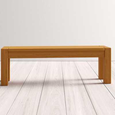 Yessenia Wood Bench - AllModern