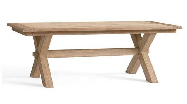 "Toscana Extending Dining Table, Oak, 88.5"" - 124.5"" L - Pottery Barn"