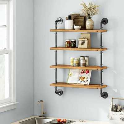 Dane Solid Wood Wall Shelf - Wayfair