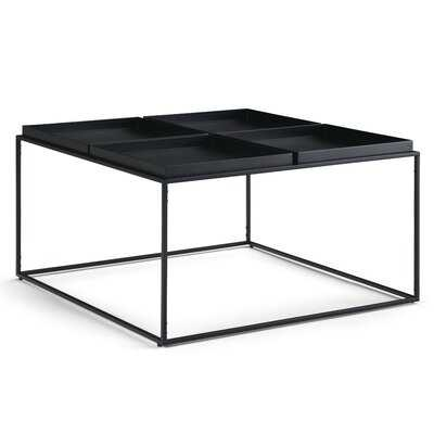 Baudette Coffee Table with Tray Top - Wayfair