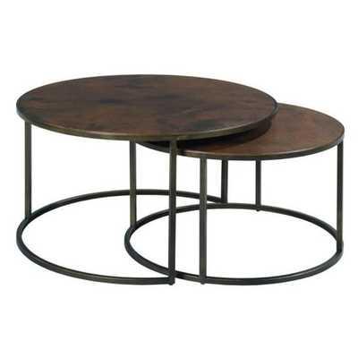 Hammary Sanford Round Nesting Cocktail Tables - Wayfair