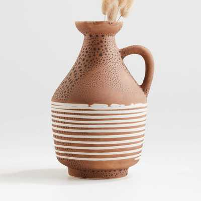 San Luis Terracotta Vase - Crate and Barrel