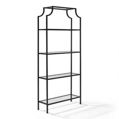 Bronze Milayan Tall Shelf - World Market/Cost Plus