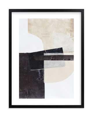 "Last Tuesday, 24"" x 30"" w/Rich Black Wood Frame - Minted"