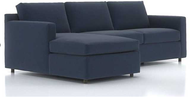 Barrett 2-Piece Left Arm Chaise Sectional - Crate and Barrel