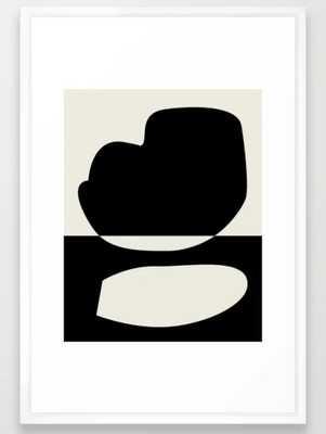 // Reverse 01 Framed Art Print - Society6