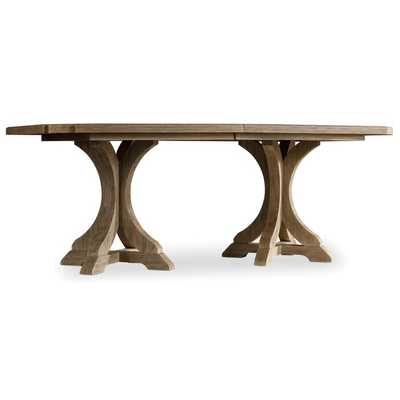 CORSICA DESIREE EXTENDABLE DINING TABLE - Perigold