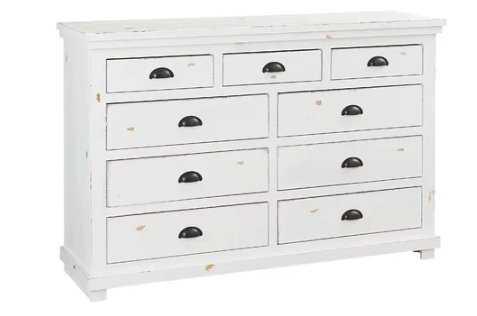 Castagnier 9 Drawer Double Dresser - Birch Lane