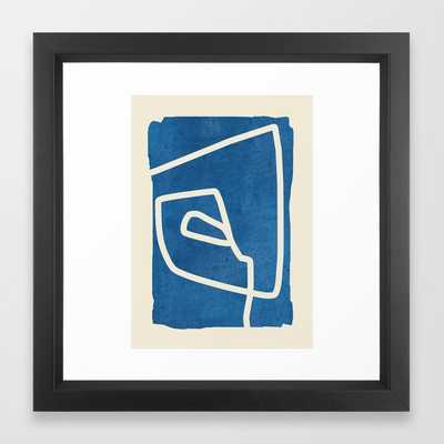 abstract minimal 57 Framed Art Print - Society6