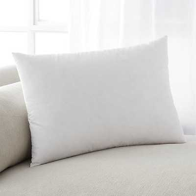 "Feather-Down 22""x15"" Pillow Insert - Crate and Barrel"