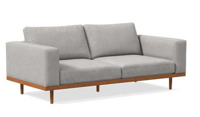 "Newport 84"" Sofa Boxed Cushion - West Elm"