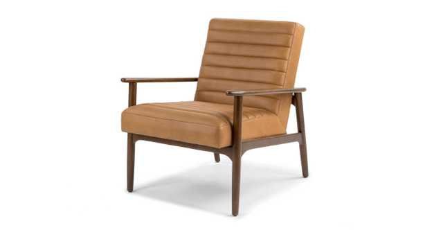 Thetis Charme Tan Chair - Article