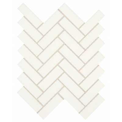 Restore Bright White 9 in. x 12 in. x 6.35 mm Ceramic Mosaic Tile - Home Depot