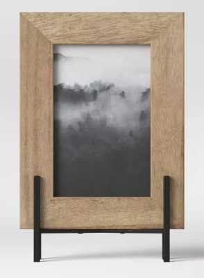 """4"""" x 6"""" Natural Frame with Stand Brown - Project 62 - Target"""