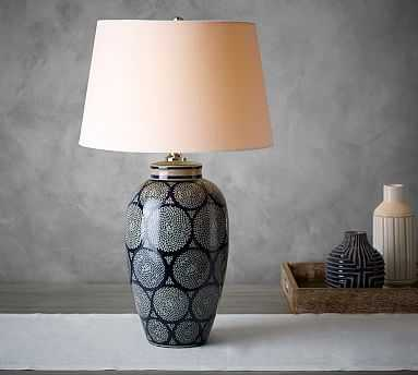 Jamie Young Langley Ceramic Vase Lamp - Pottery Barn