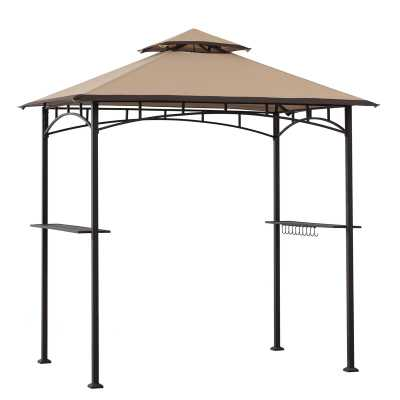 Bayamo 8 Ft. W x 5 Ft. D Steel Grill Gazebo - Wayfair