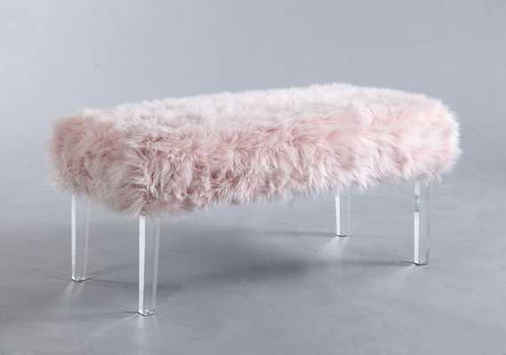 Caddington Upholstered Bench - Wayfair