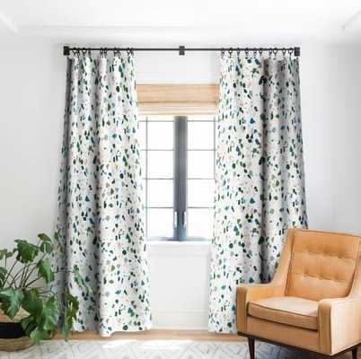 "TERRAZZO Blackout Window Curtain 84""L - 2 panels - Wander Print Co."