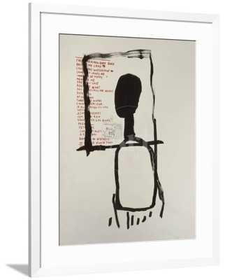 "Untitled by Jean-Michel Basquiat 30"" x 40"" - art.com"